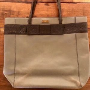 Well loved Kate Spade Tote Bag - Bow